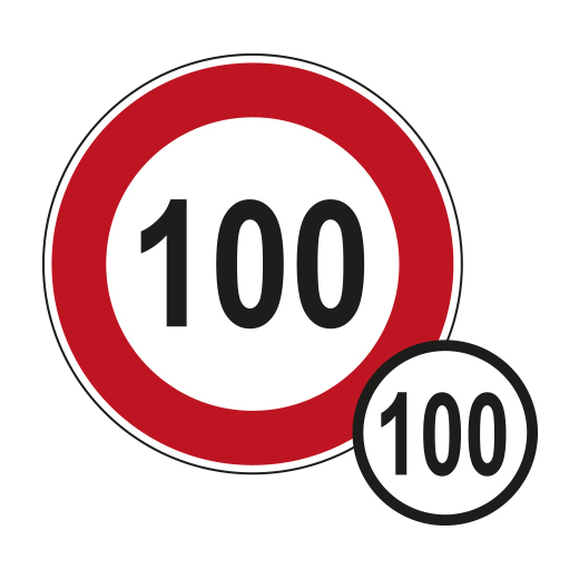 Tempo 100 Regelung